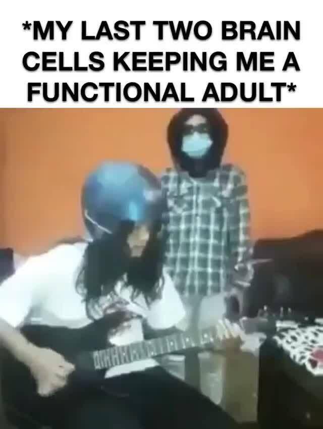 My Last Two Brain Cell Memes Meme Comics Funny