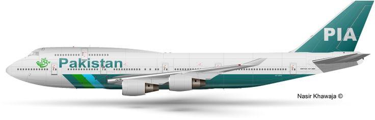 Pakistan International Airlines - PIA Boeing 747-400