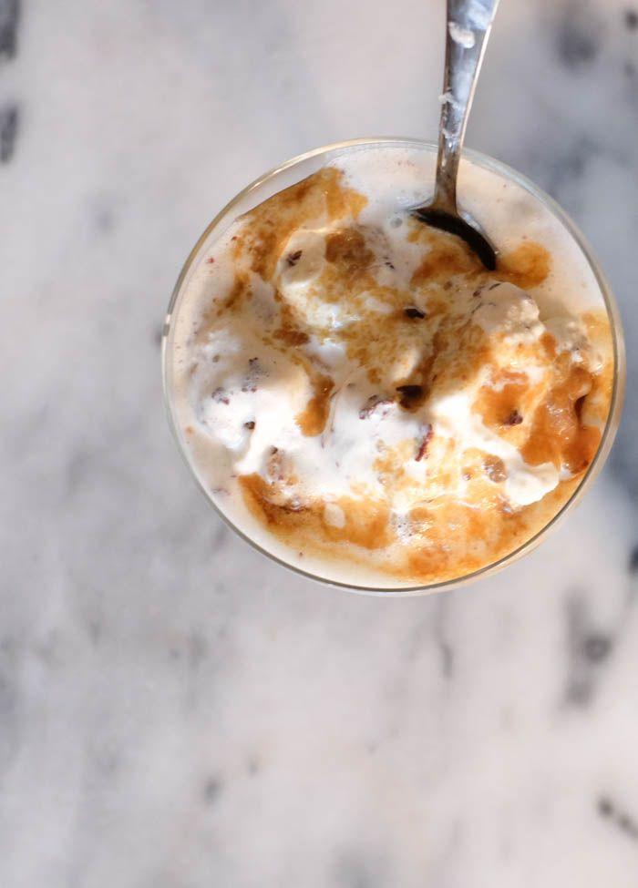 Salted Caramel Sundae Recipe.