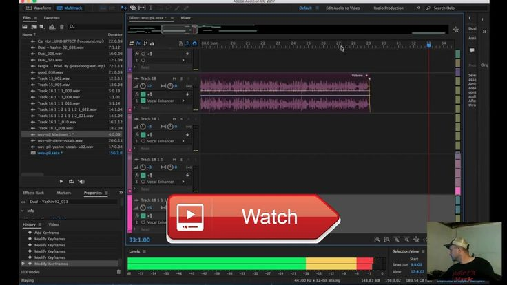 LIVE Adobe Audition Audio Editing Hip Hop Music  Adobe Audition Audio Editing Hip Hop Music This video is for my DIYers who like to play with big boy software to ge