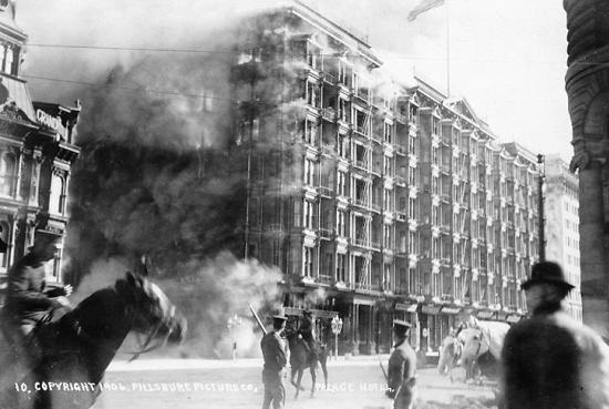 The Palace Hotel, San Francisco - Palace Hotel Fire
