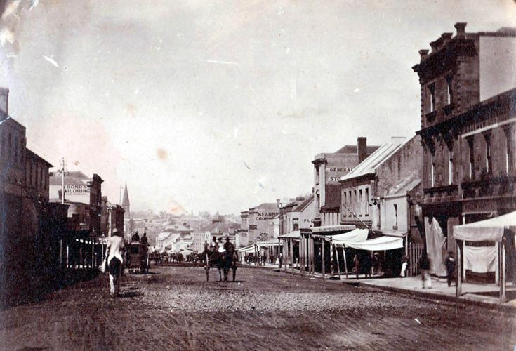 Brickfield Hill, George Street, Sydney 1873 | The Dictionary of Sydney