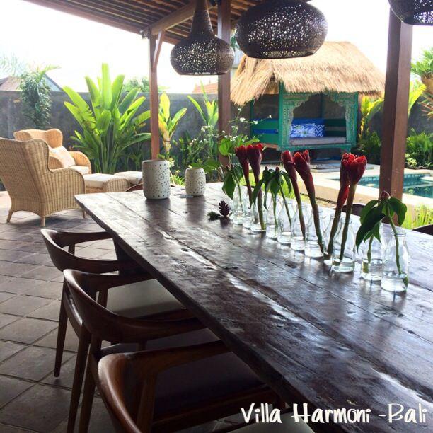 Dinner area, garden, relax  Villa Harmoni