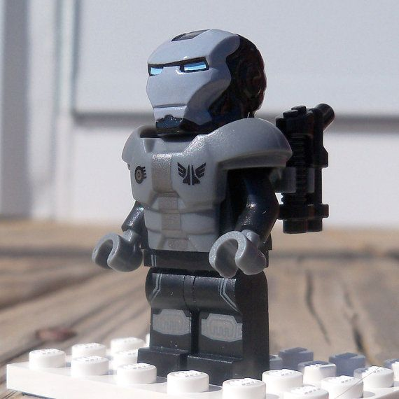 Space Trooper Iron Man by CafePlastic on Etsy