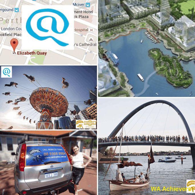 Elizabeth Quay - Perth City foreshore on Swan River