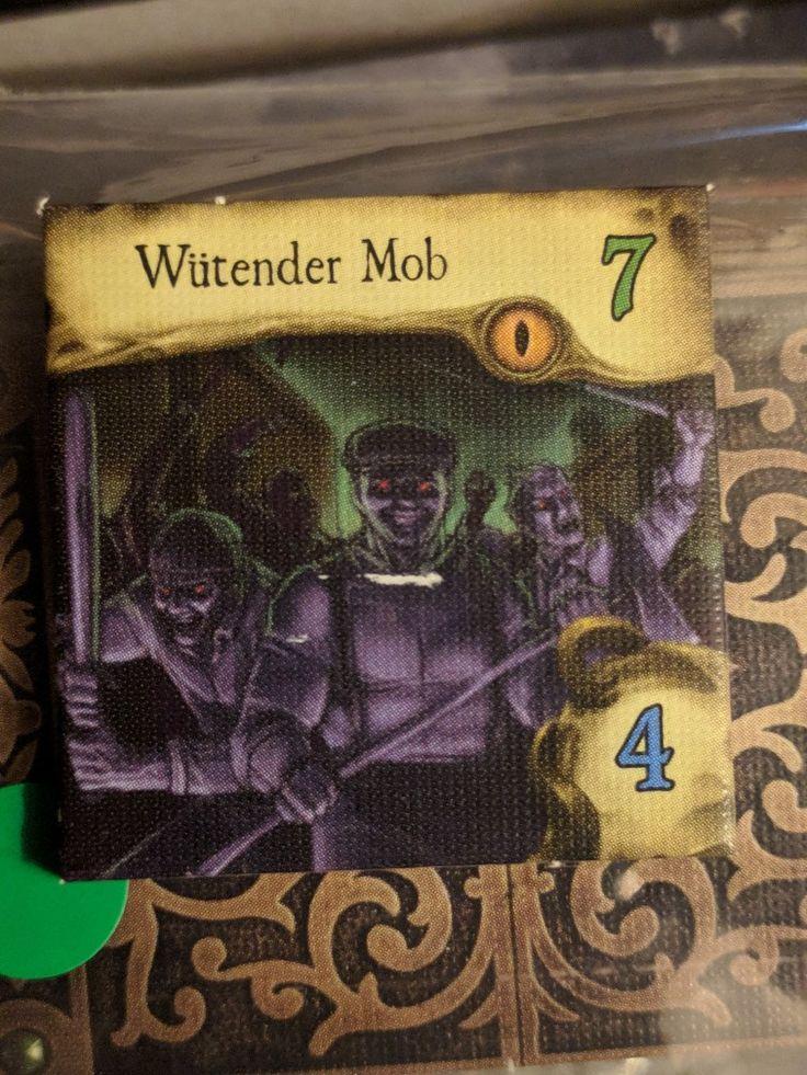 Wütender Mob - Villen des Wahnsinns - 2nd Edition - Mansions of Madness