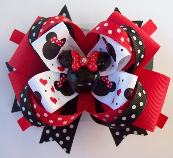Minnie bow girls just want to have fun pinterest - Lazos con cintas ...
