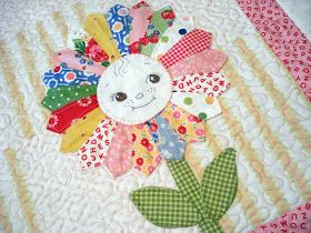 ........................ Pink Pincushion: BQF: Baby Quilt Entry, Sunflower Baby
