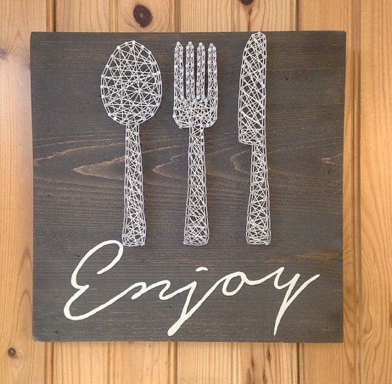 Perfect for anyones kitchen!   #kitchen #fork #spoon #knife #enjoy #home #cook #cooking #chef #cheflife #kitchendecor #housewarming #homedecor #baking #baker #eat #food #home #delish #wood #kitchenlife #foodporn #handmade #mykitchen #hangry