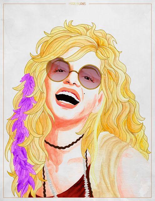 Marilyn Monroe - Janis Joplin