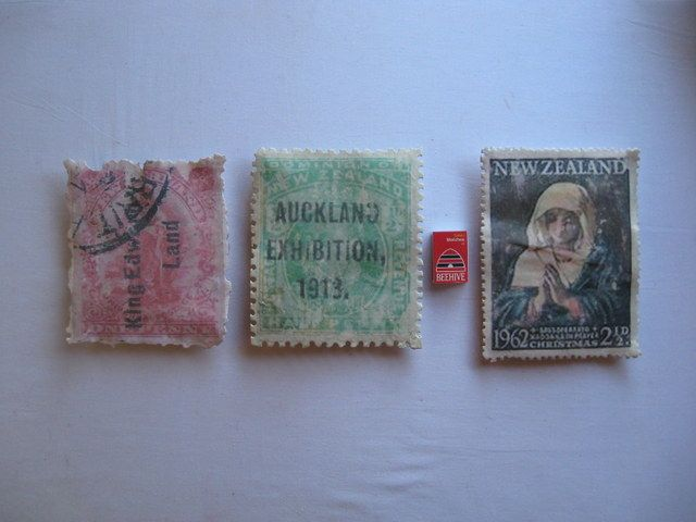 Stamp Sculptures .. by Liz McAuliffe .. $250 each . Commissions welcome.
