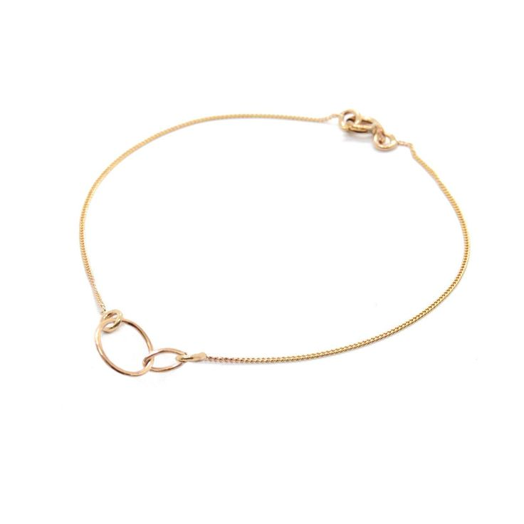 Loop Through Oval Bracelet