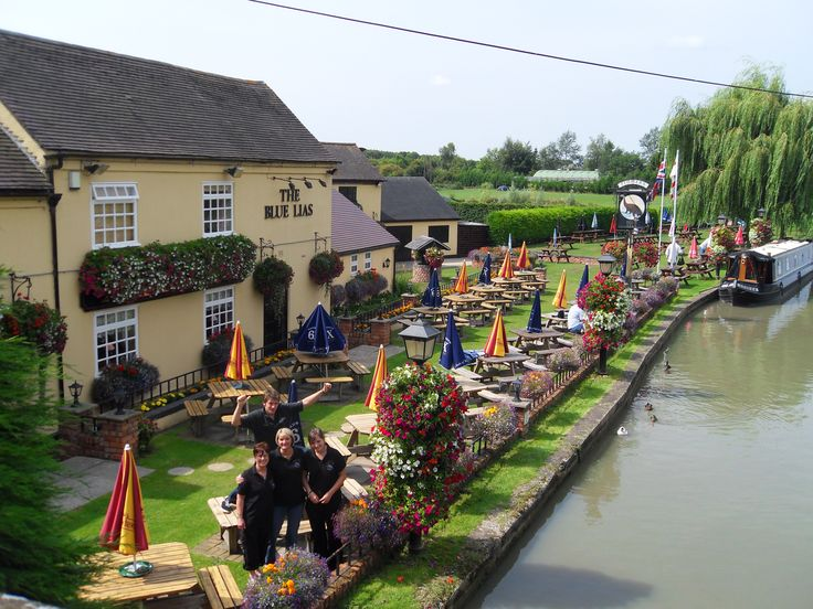 The Blue Lias - Grand Union Canal