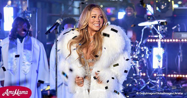 When Mariah Carey First Released All I Want For Christmas Is You In 1994 The Catchy Tune Went On To Become One Of The Hi Mariah Carey Mariah Serious Fashion