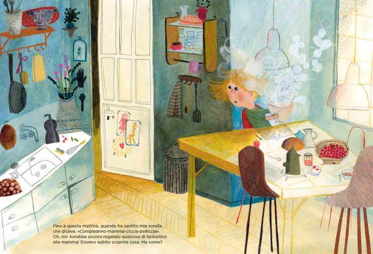 """Beatrice Alemagna, """"Il meraviglioso Cicciapelliccia""""."""