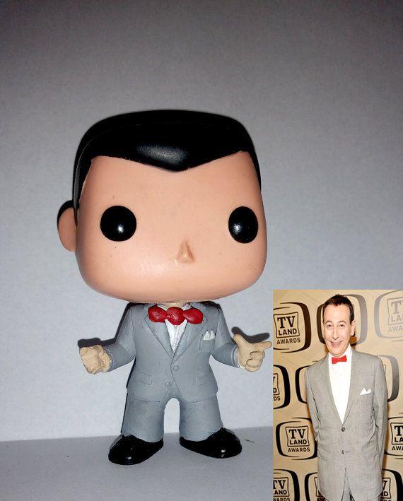 Pee Wee Herman Funko Pop Pee Wee Herman And Funko Pop