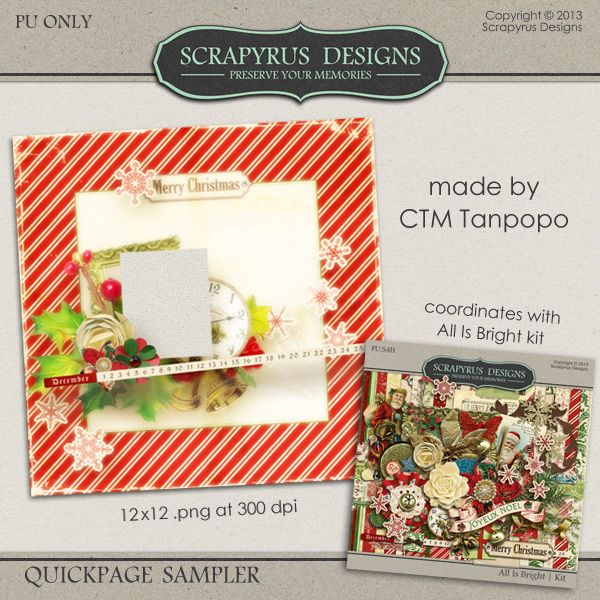 Another freebie. Available at Scrapyrus Designs blog. http://scrapyrusdesigns.blogspot.nl/2013/11/all-is-bright-new-collection-and-freebie.html