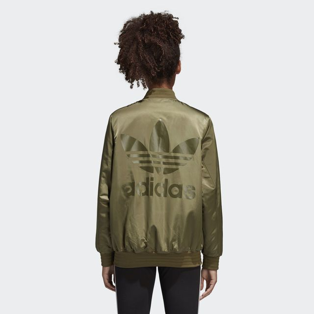 adidas Women's Styling Complements SST Jacket - Green | adidas Canada