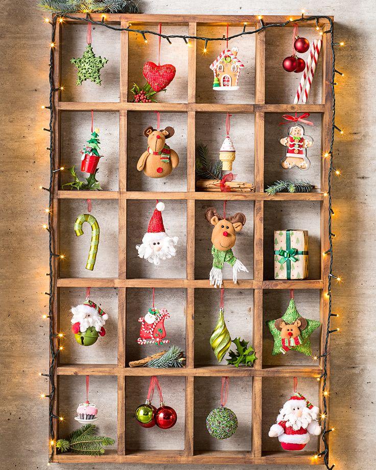 Estos adornitos no solo sirven para tu árbol de navidad. ¡Crea adornos originales! #LaNavidadDeLasCasas #easytienda #tiendaeasy #Navidad2016 #Easy