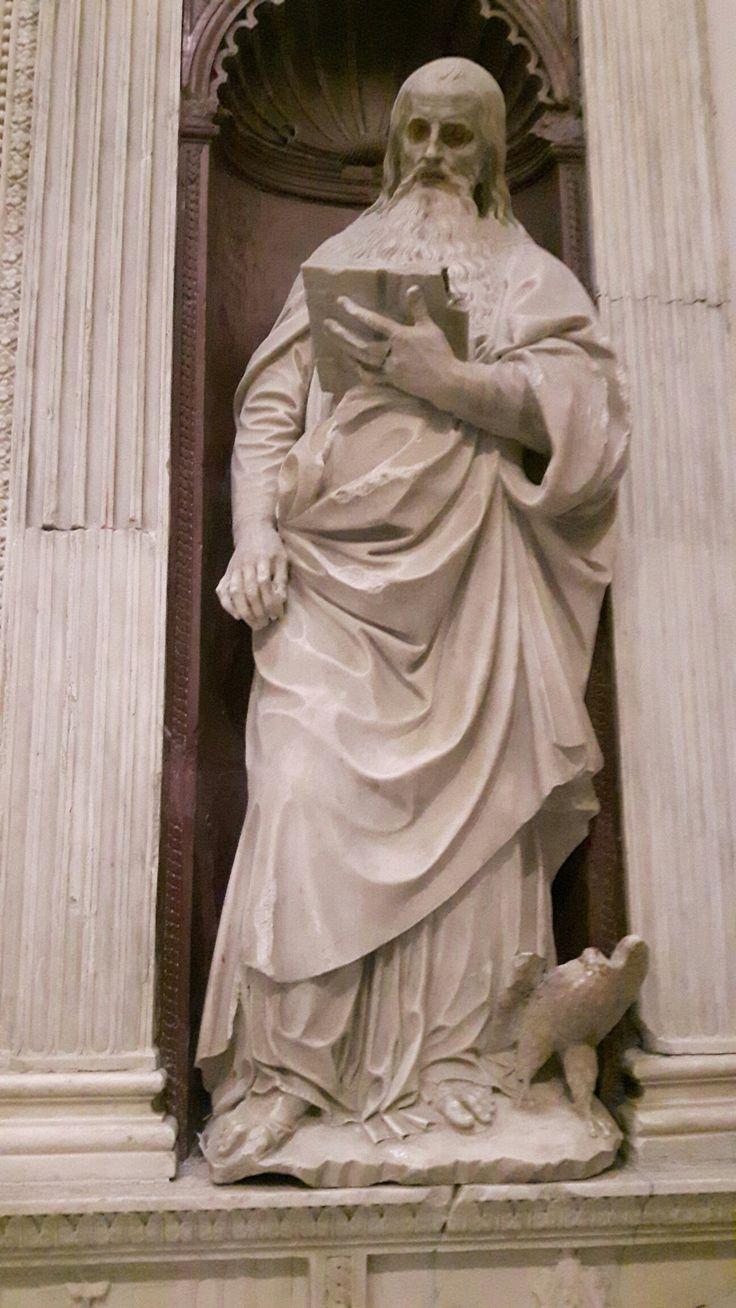 San Giovanni Evangelista. Dalla Cappella Piccolomini  nella Chiesa di Sant'Anna dei Lombardi a Napoli