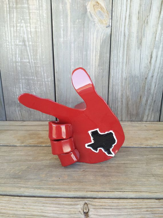 Texas Tech Receiver Hitch by J4SculptedSteel on Etsy, $49.95