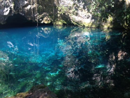 Sorgenti del Gorgazzo (blue water hole) - Polcenigo