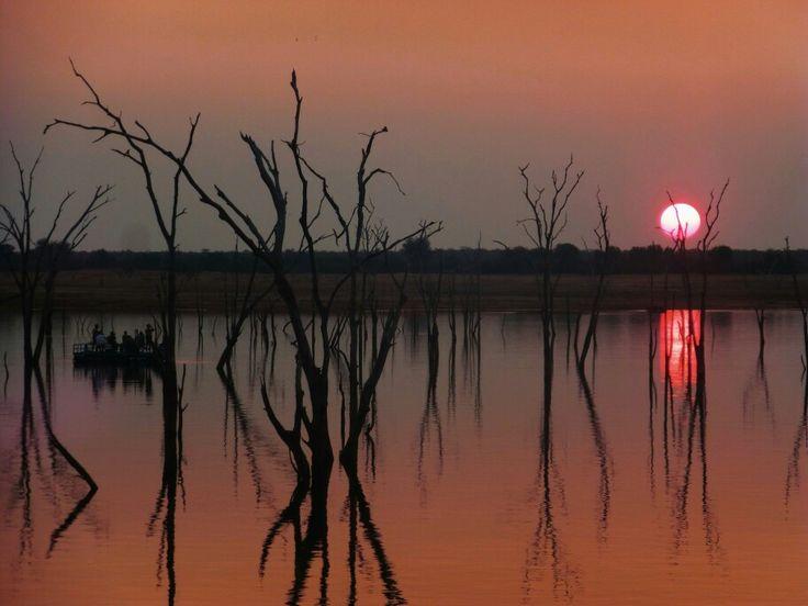 Lake Kariba, Zambia/Zimbabwe border