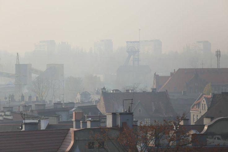 Katowice, smog