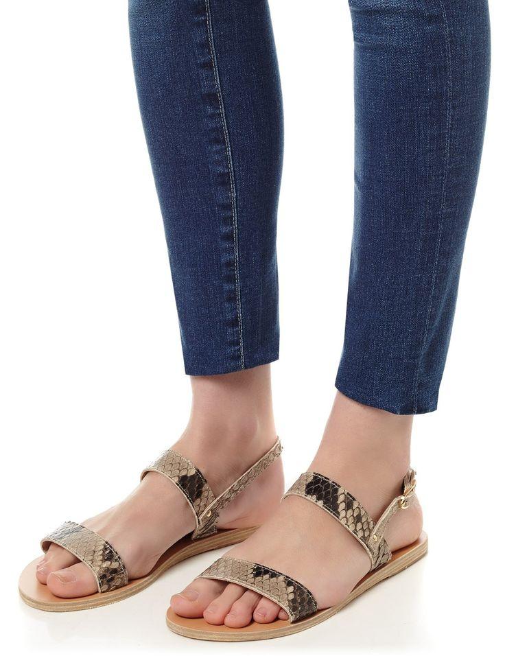 Natural Python Clio Sandals | Ancient Greek Sandals | Avenue32