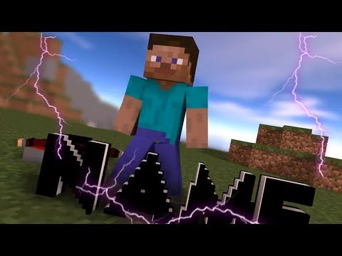 minecraft animation theu, CINEMA, 4D, minecraft minecraft