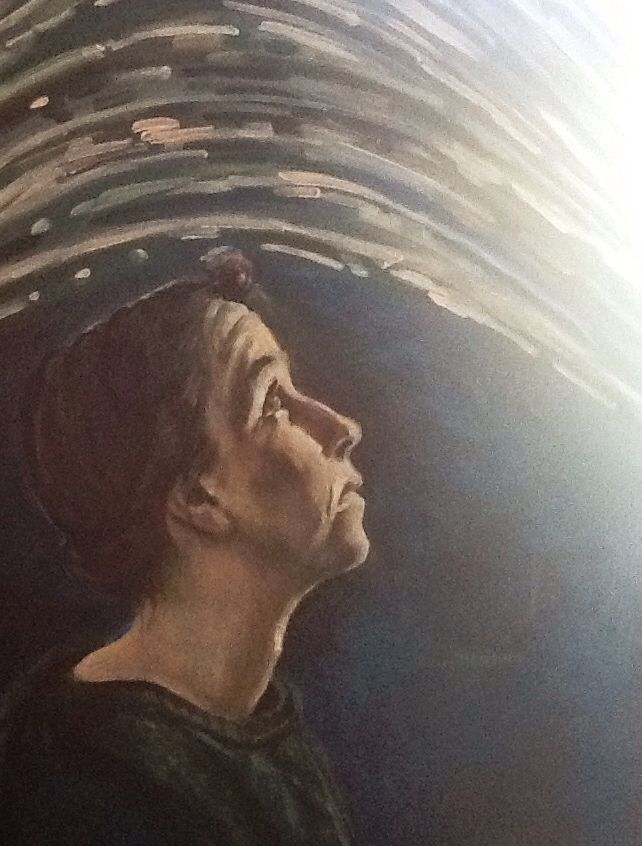 Self portrait 2015 (Oil on canvas)