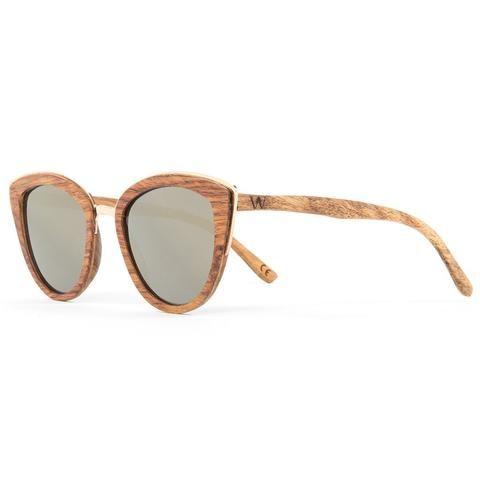 Womens Wooden Sunglasses, Women's Wooden Watch, Bamboo Sunglasses - Woodzee