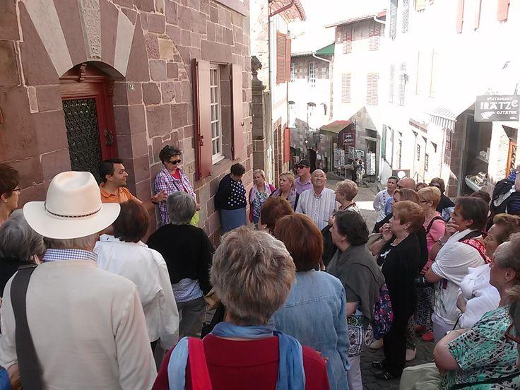 Alain nos cuenta como era la vida dentro de la ciudad amurallada de San Juan Pie de Puerto.