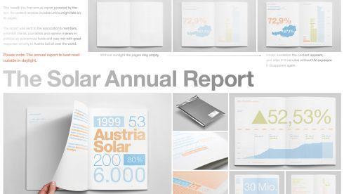 Le premier rapport annuel solaire (The Solar Annual Report) ppour Verband Austria Solar