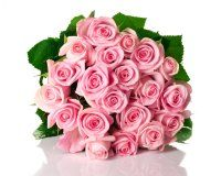 Букет из розовых роз To Lips