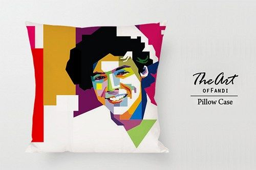 "One Direction Harry Style - Custom Square 18""x18"" One Side Pillow Case"