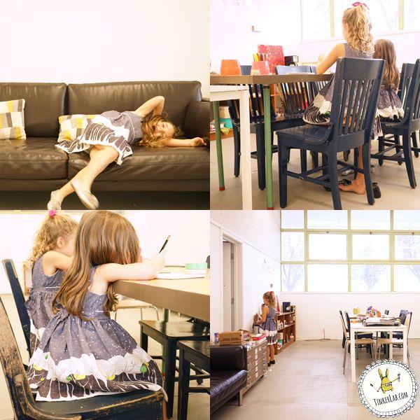 Poppy Dresses on TinkerLab