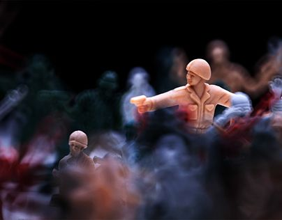 """Check out new work on my @Behance portfolio: """"Plastic war"""" http://be.net/gallery/49455035/Plastic-war"""