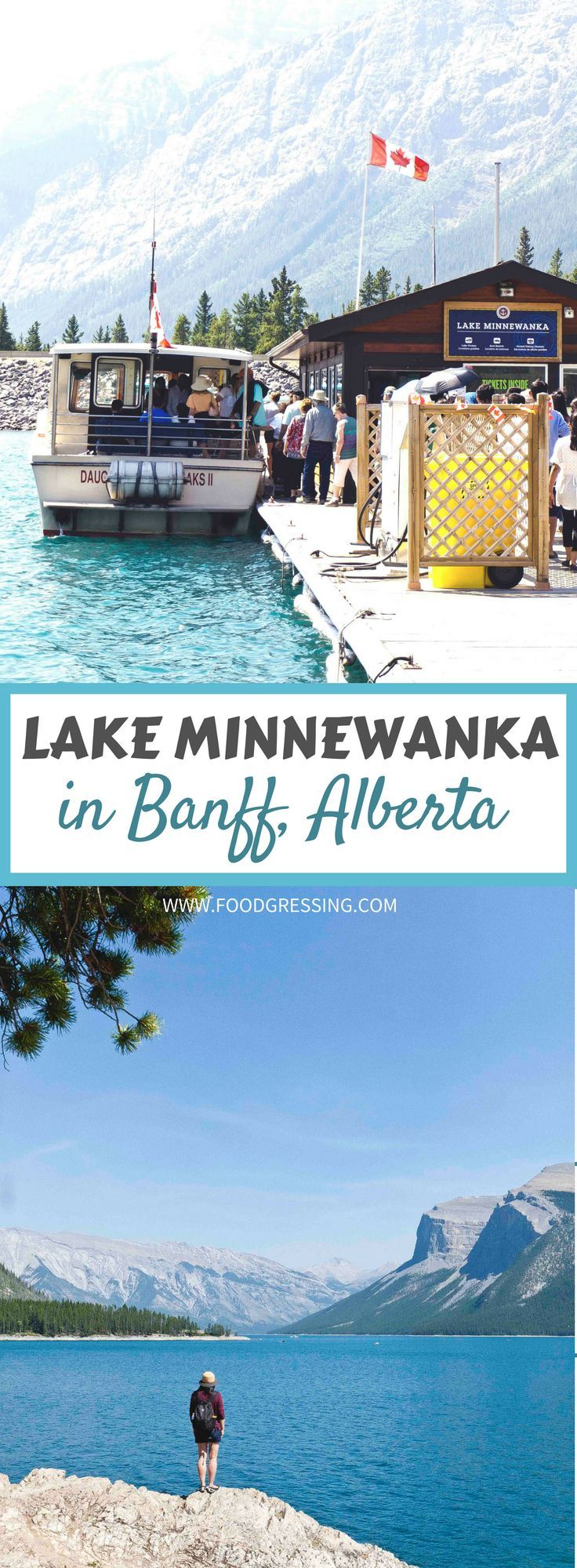 What you need to know before you visit Lake Minnewanka in Banff Alberta ** #Banff | Banff Alberta | Banff Travel | Banff Things To Do | Banff Vacation | Banff Weekend | What to do in Banff | Banff Attractions