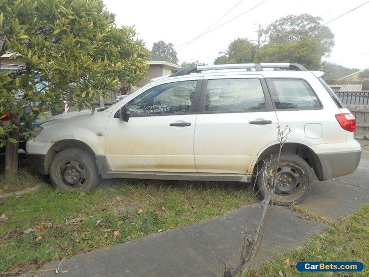 MITZUBISHI OUTLANDER 2004 SUV AUTO WHITE #mitsubishi #outlander #forsale #australia