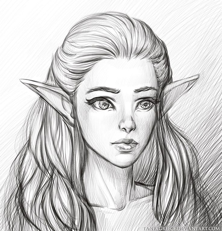 May the Egg live! : inspirationofelves: my new art pencil drawing...