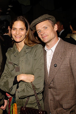 Flea With His Wife Frankie Rayder People Pinterest