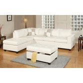 Found it at AllModern - Bobkona Left Hand Facing Sectional