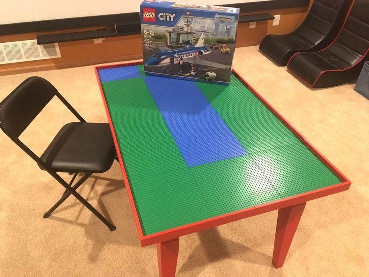 Storage Mats And Play Tables 180020: Custom Lego Table   4 Foot Long  U003e