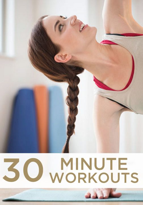 Click for the best workout videos – all 30 minutes or less!
