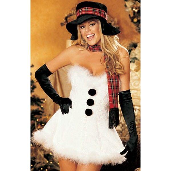 The Snow Vixen Sexy Christmas Costume