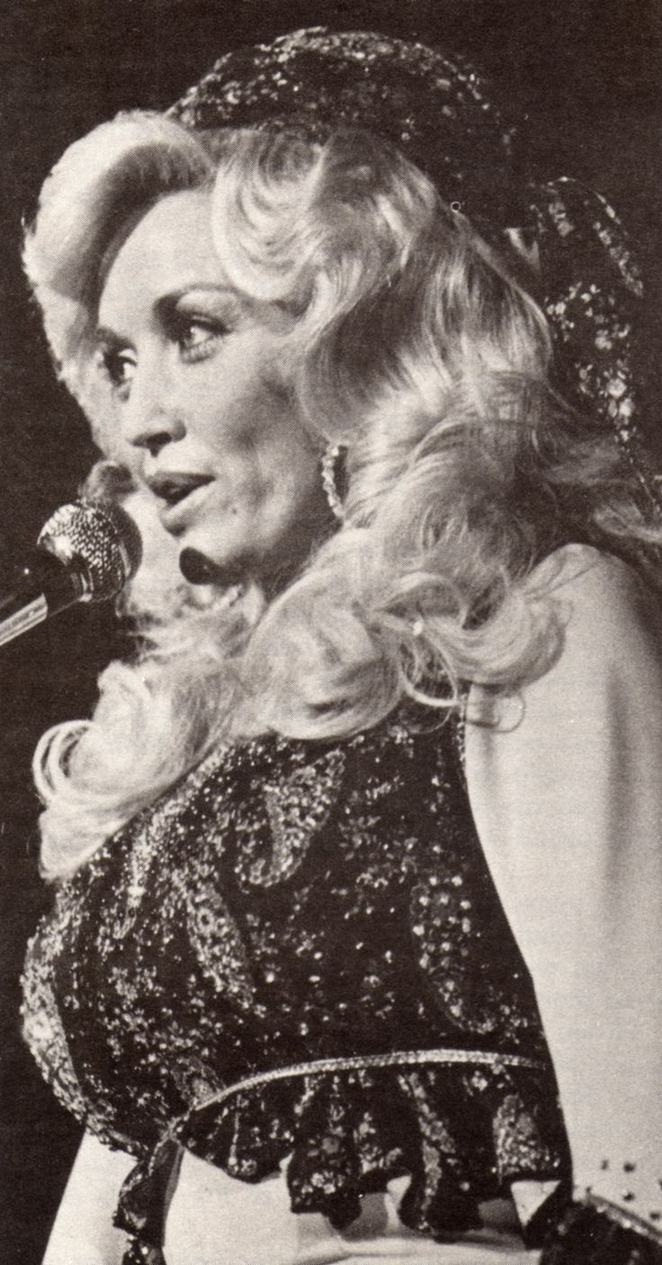 black and white pictures of dolly pardon