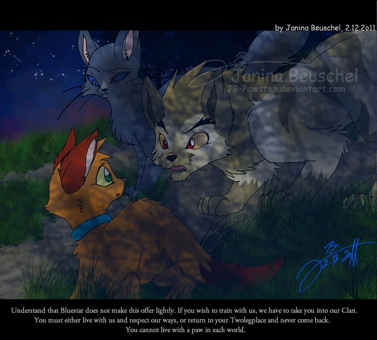 Warriors Cats Into The Wild Movie: Bluestar Lionheart And Rusty