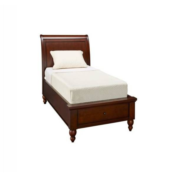 This Gorgeous Sleigh Bed Comes In A Hand Distressed White Finish And It Features Handy