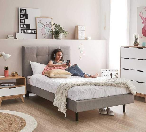 Modena King Single Bed Beds Bedroom Mattresses Categories